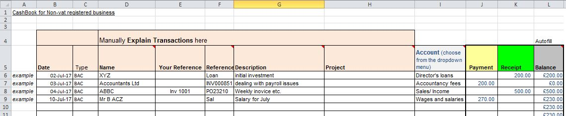 Excel Bank Reconciliation Template  Free Excel Spreadsheet